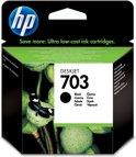 HP 703 - Inktcartridge / Zwart (CD887AE)