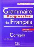 Grammaire progressive du français. Niveau intermédiaire. Corrigés