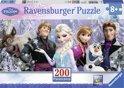 Ravensburger Disney Frozen Arendelle in het eeuwige ijs - Panorama Puzzel van 200 stukjes