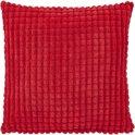Dutch Decor Rome - Kussenhoes - 45x45 cm rood