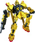 mini-lego*  mini Fighting Robot Nanoblock