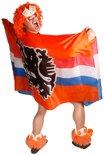 Vlag poncho leeuw