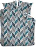 Beddinghouse Dawson Dekbedovertrek - eenpersoons - 140x200/220 - Blauw