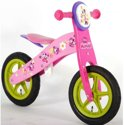 Disney Minnie B-Tique Houten Loopfiets - Roze - 12 inch