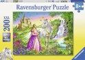 Ravensburger Prinses met paard - Puzzel van 200 stukjes