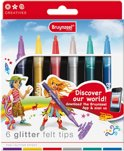 Viltstift Bruynzeel Young glitter
