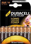 Duracell AAA Plus Power Alkaline Batterijen - 16