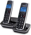 Fysic FX-6020 - Senioren DECT telefoon twin - Zwart