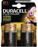 Duracell Plus Power D batterijen - 2 stuks