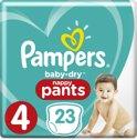 Pampers Baby-Dry Pants Luierbroekjes - Maat 4 (Maxi) 8-14 kg - 23 Stuks - Luiers