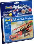 Revell Model Set Fokker DR. 1 Triplane
