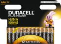 Duracell AAA Plus Power Alkaline Batterijen -12