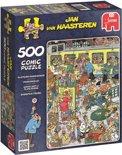 Jan van Haasteren Perrongeluk - Puzzel 500 stukjes