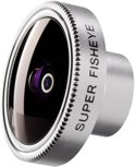 Walimex Super Fisheye lens voor iPhone