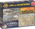 Jan van Haasteren Winter fun 2in1 - Puzzel 2x 1000 stukjes