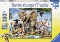 Ravensburger Afrikaanse vrienden - Puzzel van 300 stukjes