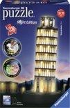 Ravensburger Toren van Pisa Night Edition - 3D puzzel gebouw - 216 stukjes