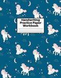 Handwriting Practice Paper Workbook