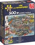 Jan van Haasteren Zeehaven - Puzzel 500 Stukjes