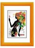 Hama Malaga oranje         40x50 kunststof                  58143