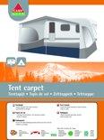 Camp-Gear - Tenttapijt - 2,5 x 5 Meter - Blauw