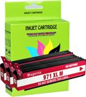 3 Pack Compatible HP 971XL(CN627AE) M*3 inktcartridges, 3 pak. 3 magenta