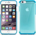 iLuv duo materiaal cover Vyneer - blauw - voor Apple iPhone 6 - 4.7