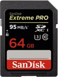 SanDisk Extreme Pro - SD Kaart - 64 GB