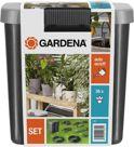 GARDENA Vakantiebewateringsset - geschikt voor 36 potplanten - incl. 9l vat