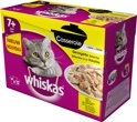 Whiskas Casserole - Senior - Gevogelte - Selection in Gelei - 4 x (12 x 85) gr