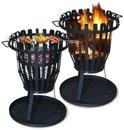 Stalen vuurkorf barbecue