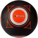 Straatvoetbal Rubber - Zwart (maat - 5)