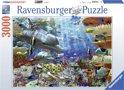 Ravensburger Leven onder water - Puzzel van 3000 stukjes