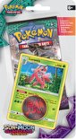 Pokémon Sun & Moon Guardians Rising Checklane Blister Lurantis