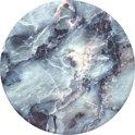 Telefoonbutton - Blauw Bergkristal