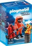 Playmobil Brandweerman met gaspak  - 5367