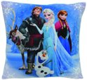 Disney Frozen Kussen The Movie Meisjes Blauw 34 X 34 X 11 Cm