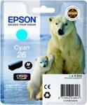 Epson 26 (T2612) - Inktcartridge / Cyaan