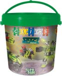 Clics Space Squad Drum 11 in 1 - Constructie blokken