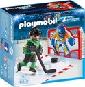 Playmobil Ijshockey doelschieten - 6192