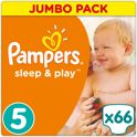 Pampers Simply Dry - Maat 5 Jumbo Box 66 luiers