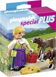 Playmobil Boerin Met Kalfjes - 4778