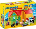 Playmobil 123 Meeneemboerderij met dieren - 6962