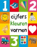 Roger Priddy boek Cijfers kleuren vormen Hardcover 9,2E+15