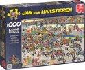 Jan van Haasteren Motorrace - Puzzel 1000 stukjes