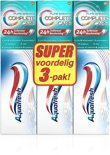 Aquafresh Complete Care pure breath 3x75ml - Tandpasta