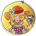 Blond Amsterdam A Cup of Blond - Theetipje - � 12 cm - 'A Cup of Sunshine'