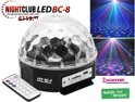 RGB Nightlive Club LED-Beam LED BC-8 - Capital Shopping BV