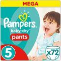 Pampers Baby-Dry Pants Luierbroekjes - Maat 5 (Junior)11-18 kg - 72 Stuks - Luiers