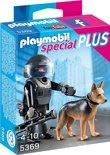 Playmobil Speciale politieagent met speurhond  - 5369